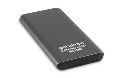 """Накопичувач зовнішній SSD 2.5"""" USB 256GB Goodram HL100 (SSDPR-HL100-256)"""