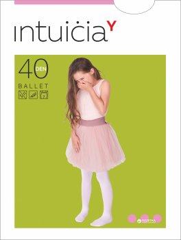 Колготки Intuicia Ballet 40 Den 140-146 см White (4823072910116)