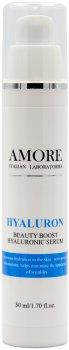 Сыворотка концентрированная Amore с гиалуроновой кислотой для интенсивного увлажнения кожи 50 мл (4805054867953)