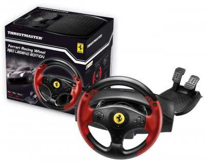 Дротовий руль Thrustmaster Ferrari Racing Wheel Red Legend Edition 4060052