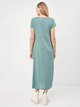 Платье Рута-С 4334лн/1 Полынь в горошек