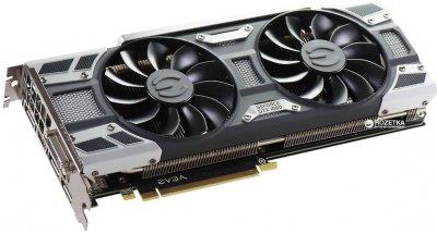EVGA PCI-Ex GeForce GTX 1080 SC Gaming 8GB GDDR5X (256bit) (1708/10010) (DVI, HDMI, 3 x DisplayPort) (08G-P4-6282-KB)