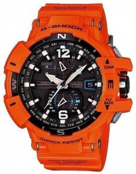 Чоловічий наручний годинник CASIO GW-A1100R-4AER Помаранчевий (nri-1134) (NV9909)