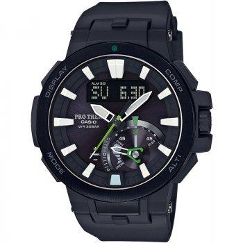 Чоловічі наручні годинники CASIO PRW-7000-1AER Чорні (nri-1103)
