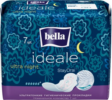 Гигиенические прокладки Bella Ideale Ultra Night 7шт (5900516304843)