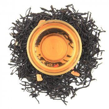 Черный ароматизированный чай Teahouse Бегемот Маракуя, 250 гр