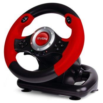 Проводной рульSven GC-W400 PC Black/Red (00700040)