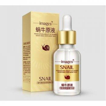 Сыворотка для лица с гиалуроновой кислотой и экстрактом улитки Images Snail 15мл