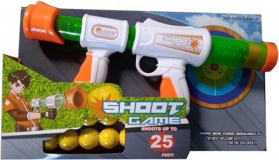 Игрушечный пистолет Yiniya Toys с мягкими мячиками (168А-1) (6910010016813)