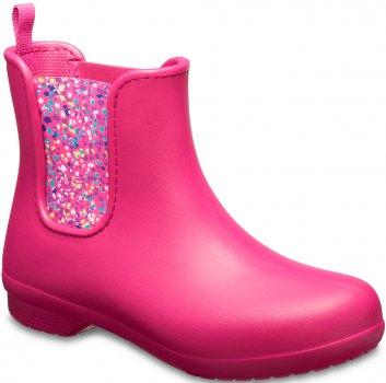 Гумові чоботи Crocs Women's Freesail Chelsea Boot 204630-6PC Рожеві