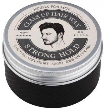 Віск для волосся Missha Men Class Up Hair Wax Forte сильної фіксації 90 г (8806185772747)