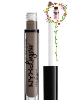 Помада для губ Жидкая матовая помада NYX Professional Makeup Lip Lingerie Liquid Lipstick LIPLI13 SCANDALOUS 4 мл (5906074487653)