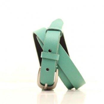 Ремень кожаный Lazar 115 см зеленый l20s0w1