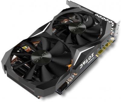 Zotac PCI-Ex GeForce GTX 1070 Ti Mini 8GB GDDR5 (256bit) (1607/8000) (DVI, HDMI, 3 x DisplayPort) (ZT-P10710G-10P)