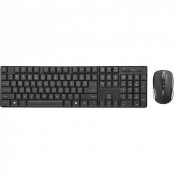 Комплект Trust Ximo Wireless Keyboard with mouse UKR (21628)