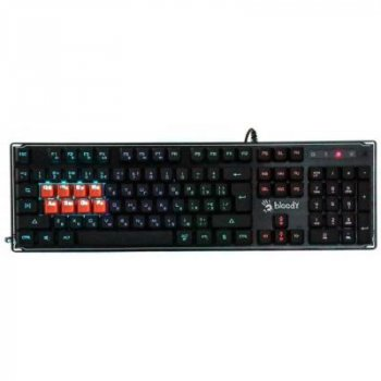 Клавиатура A4tech Bloody B3370R Black