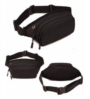 Сумка тактическая поясная повседневная sandwich bag Protector Plus black