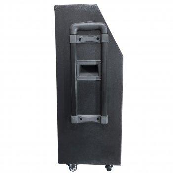 Акустична система LAV F-12 Black Потужність 800 Вт 2 мікрофона Радіо, Bluetooth з пультом управління