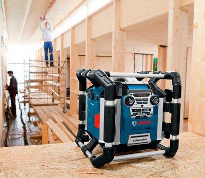 Радиоприемник-зарядное утройство Bosch Professional GML 50 PowerBox (0601429600)