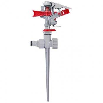 Дождеватель Intertool пульсирующий металл на костыле до 12 м (GE-0053)