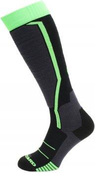 Носки Blizzard 164008 Черные с зеленым