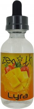 Рідина для електронних сигарет Zenith Lyra 3 мг 60 мл (Манго + полуниця) (Z-LY-60-3)