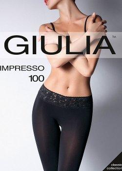 Колготки Giulia Impresso 100 Den Nero