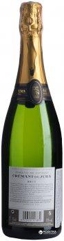 Вино ігристе Domaine Savagny Med Cremant Du Jura біле брют 0.75 л 12% (3570590107832)