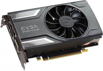 EVGA PCI-Ex GeForce GTX 1060 SC Gaming 6GB GDDR5 (192bit) (1607/8008) (DVI, HDMI, 3 x DisplayPort) (06G-P4-6163-KR)