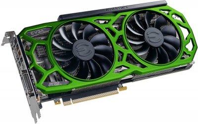 EVGA PCI-Ex GeForce GTX 1080 Ti SC2 Elite Gaming Green 11GB GDDR5X (352bit) (1556/11016) (DVI, HDMI, 3 x DisplayPort) (11G-P4-6693-K4)