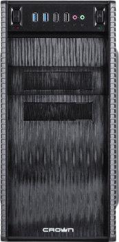 Корпус Сrown CMC-403 400 Вт Black
