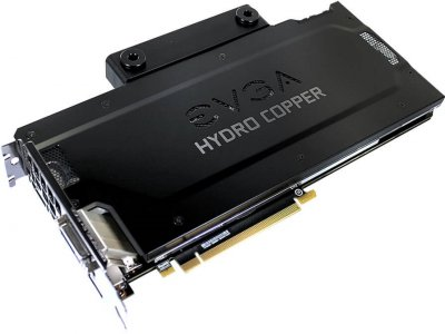 EVGA PCI-Ex GeForce GTX 1080 FTW Gaming Hydro Copper 8GB GDDR5X (256bit) (1721/10000) (DVI, HDMI, 3 x DisplayPort) (08G-P4-6299-KR)