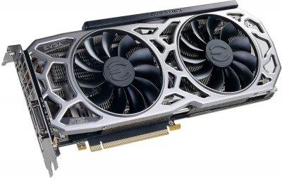 EVGA PCI-Ex GeForce GTX 1080 Ti SC2 Gaming 11GB GDDR5X (352bit) (1556/11016) (DVI, HDMI, 3 x DisplayPort) (11G-P4-6593-KR)