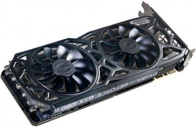 EVGA PCI-Ex GeForce GTX 1080 Ti SC Black Edition Gaming 11GB GDDR5X (352bit) (1556/11016) (DVI, HDMI, 3 x DisplayPort) (11G-P4-6393-KR)