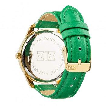 Годинники наручні Ziz Мінімалізм ремінець смарагдово-зелене золото і додатковий ремінець PPU-142878