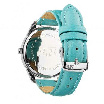 Годинники наручні Ziz Мінімалізм ремінець небесно-блакитний срібло і додатковий ремінець PPU-142863