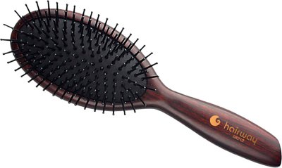 Щетка массажная Hairway Venge 11-рядная овальная (08212) (4250395402491)