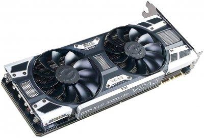 EVGA PCI-Ex GeForce GTX 1080 SC2 Gaming 8GB GDDR5X (256bit) (1708/10010) (DVI, HDMI, 3 x DisplayPort) (08G-P4-6583-KR)