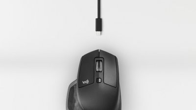 Миша Logitech MX Master 2S Wireless/Bluetooth Graphite (910-005139)