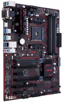 Материнська плата Asus Prime B350-Plus (sAM4, AMD B350, PCI-Ex16)