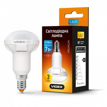 Лампа світлодіодна Videx (7 Вт; E14; 700 лм) рефлекторна (AS 528918)