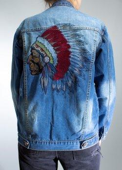 Чоловіча джинсова куртка Cherokee Light Blue