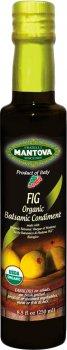 Уксус бальзамический Fratelli Mantova Fig Organic из Модены 250 мл (48176660116_394727)