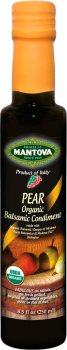 Уксус бальзамический Fratelli Mantova Pear Organic из Модены 250 мл (48176660017_394728)