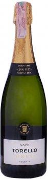 Вино игристое Torelló Brut Reserva белое брют 0.75 л 11.5% (8424518200004)