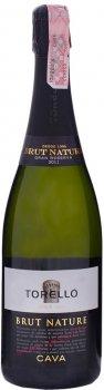 Вино игристое Torelló Brut Nature Gran Reserva белое брют 0.75 л 11.5% (8424518100007)