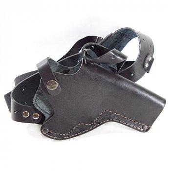 Кобура для Револьвера оперативна не формована Шкіра Чорна Beneks A021