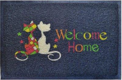 Придверний килимок IzziHome Kivircik Gri Kediler 40x60 (2200000543561)