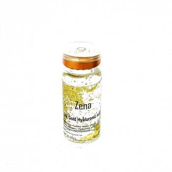 Концентрат Zena c золотом 24К,коллагеном и гиалуроновой кислотой для мезороллера 10 мл