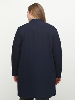 Пальто H&M 4491795 Синее